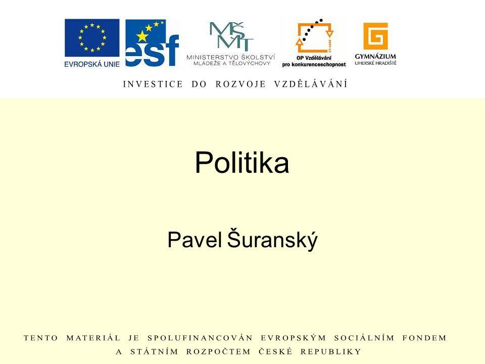 Politika Pavel Šuranský