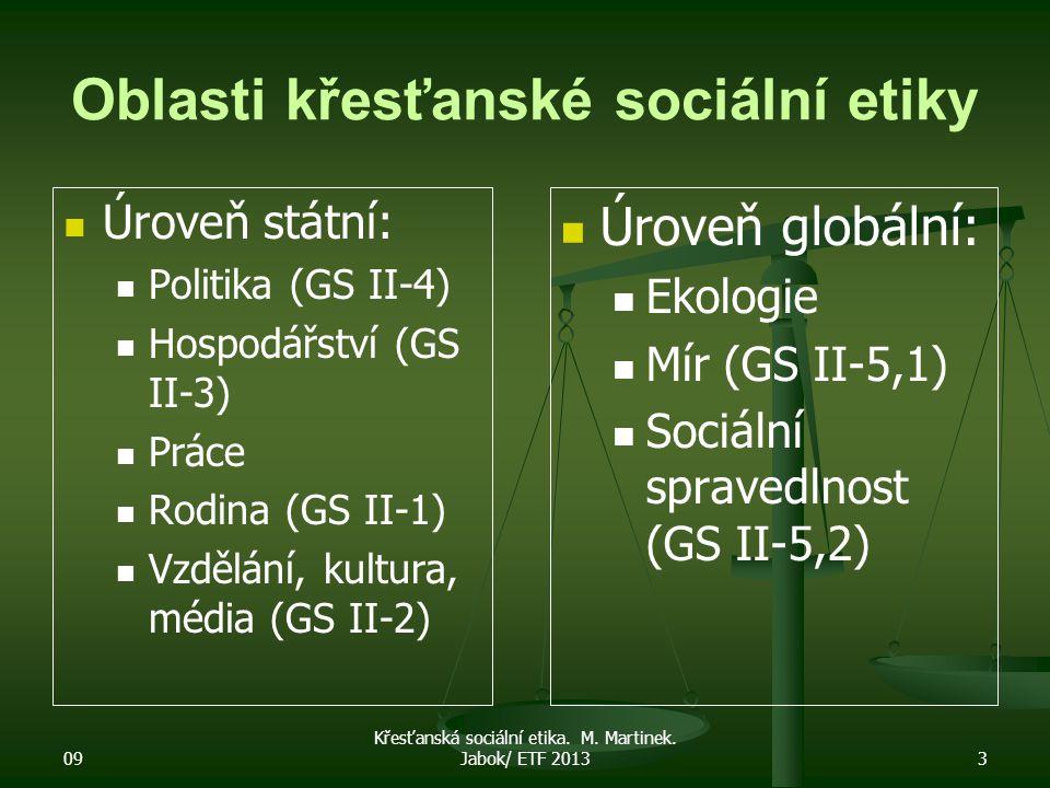 09 Křesťanská sociální etika.M. Martinek.