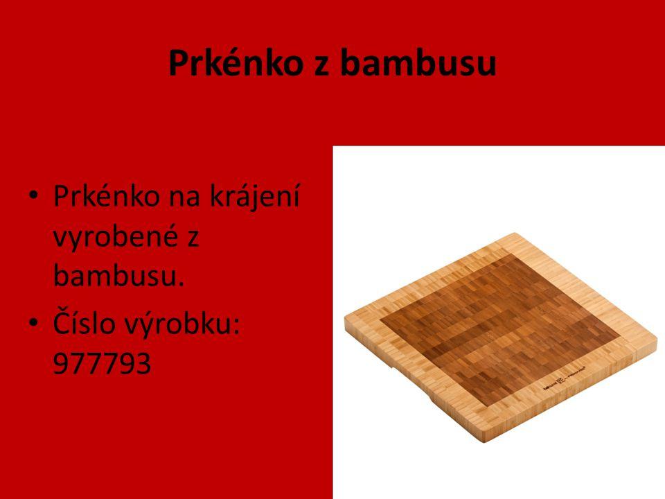 Prkénko z bambusu Prkénko na krájení vyrobené z bambusu. Číslo výrobku: 977793