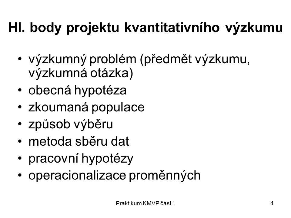 Praktikum KMVP část 14 Hl.