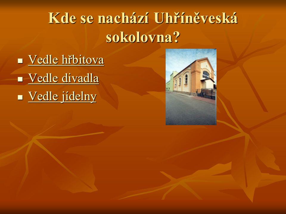 Kde se nachází Uhříněveská sokolovna.