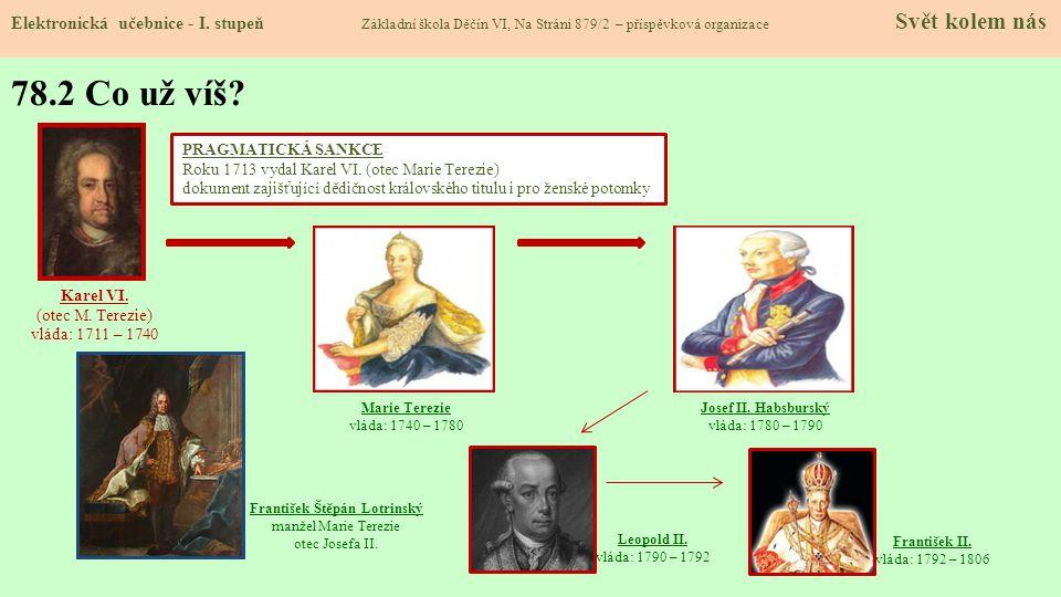 František II.vláda: 1792 – 1806 Leopold II.
