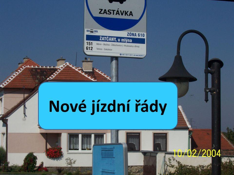 OD 1.února 2010 platí nové jízdní řády U úpravě linky č.