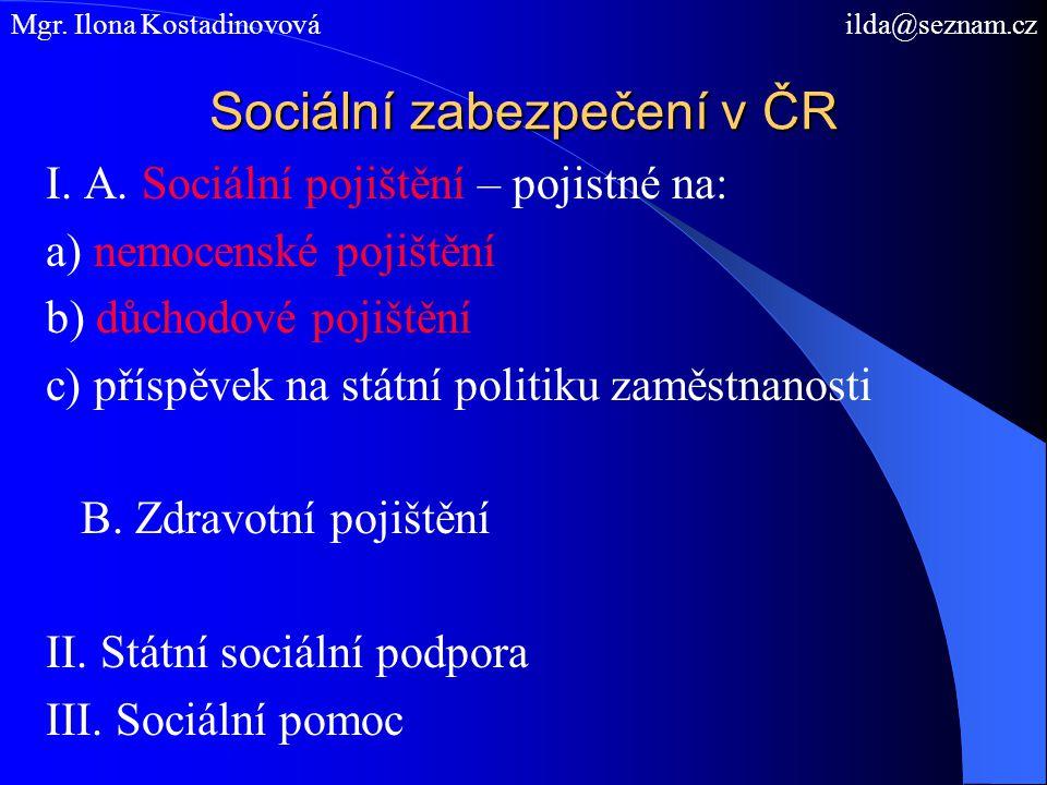 Základní pramen práva důchodového pojištění v ČR ÚZ – sociální pojištění 2009 Zákon č.