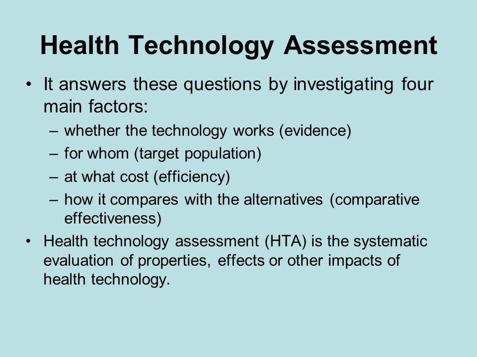 Proč potřebujeme HTA agenturu.