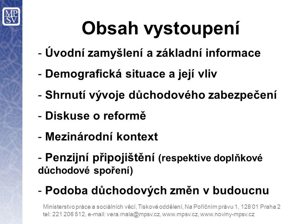 Hlavní body reformy důchodového systému v letech 1990 až 2013 (I) 1990-1992: odstranění prvních disproporcí (kategorie, OSVČ, osobní důchody), reforma institucionálního rámce (sjednocení roztříštěné právní úpravy organizace a provádění – vznik ČSSZ).