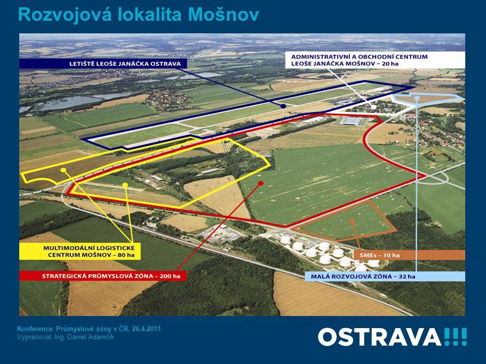 Historie zóny a výhled do budoucna 2005 - zájem společnosti Hyundai o zónu, na základě vládního usnesení zóna získává statut strategické zóny a její plocha se rozšiřuje na 200ha 2006 - první tři investoři v zóně – Behr, Plakor a Cromodora Wheels 2007 - příprava rozšířeného území (demolice, sanace) 2008 - pozemky v zóně získává společnost Free Zone Ostrava 2009 - v zóně získává pozemky společnost HB Reavis Group CZ, která plánuje přípravu multimodálního logistického centra 2009/2010 - realizace a dokončení staveb technické infrastruktury, včetně posílení kapacity elektrické energie 2012/2013 - realizace kolejového napojení Letiště Leoše Janáčka Ostrava K 31.12.2010 společnosti umístěné v zóně investovaly nebo oznámily záměr investovat více než 6,4mld.
