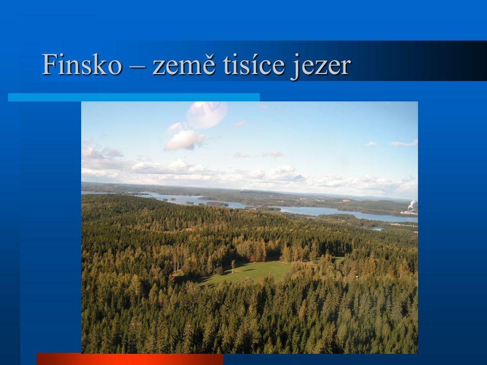 Finsko – země tisíce jezer