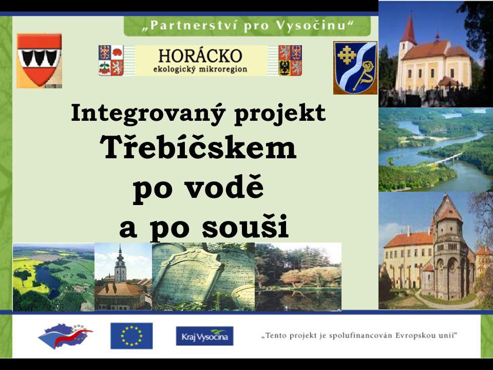 Integrovaný projekt Třebíčskem po vodě a po souši