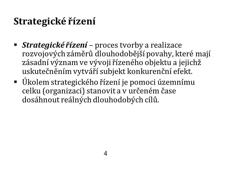 Metodika SMART  pomocný nástroj pro formulaci cílů - Specifický (konkrétní, srozumitelný, stimulující) - Měřitelný (volba ukazatelů) - Akceptovatelný (ztotožnění se s cílem, nutnost publicity) - Dosažitelný/realistický (s ohledem na omezené zdroje a jiné faktory a podmínky) - Časově omezený (termín) 25