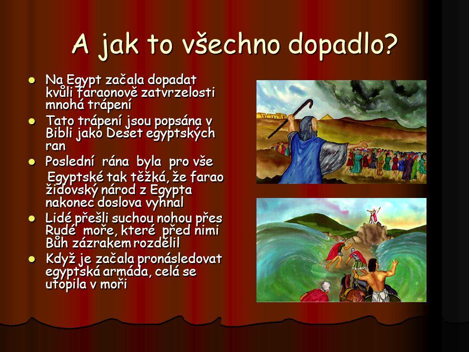 A co na to farao? Hudba, kterou posloucháš je tradiční hudba, která se hrahje o Velikonocích Hudba, kterou posloucháš je tradiční hudba, která se hrah