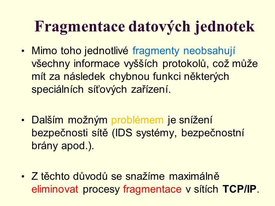 Směrování paketů V uzlech sítě je síťová vrstva zodpovědná za směrování paketů přicházejících z jedné sekce sítě do sekce následující.