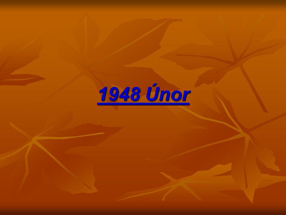 1948 Únor