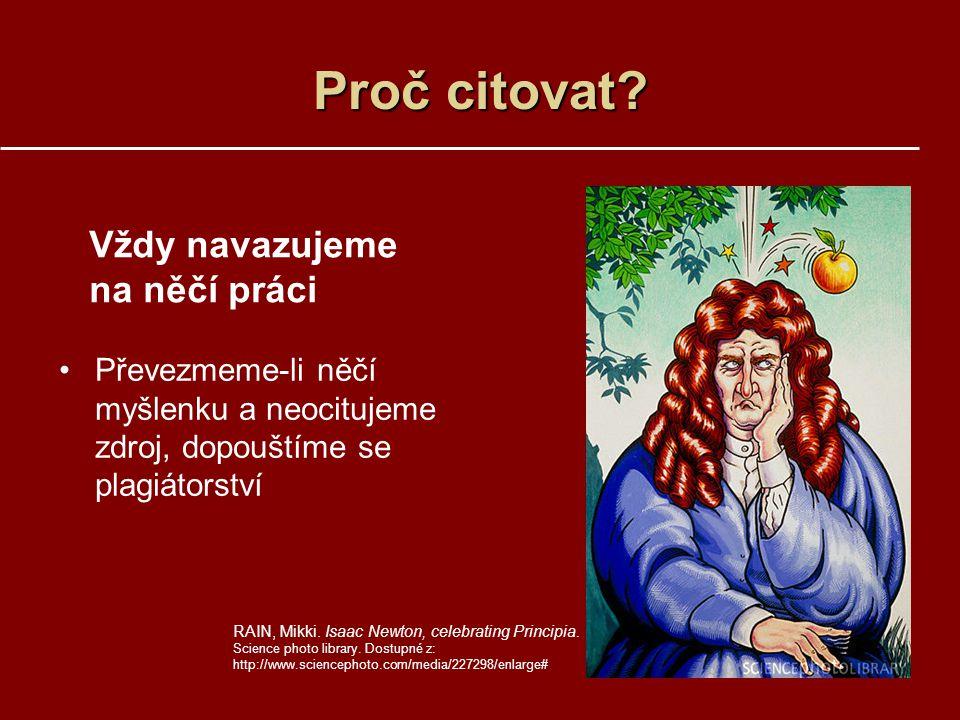 KNIHY A MONOGRAFICKÉ PUBLIKACE Tvůrce.Název publikace.