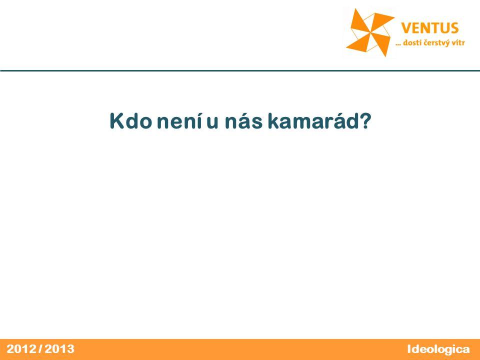 2012 / 2013 Kdo není u nás kamarád? Ideologica
