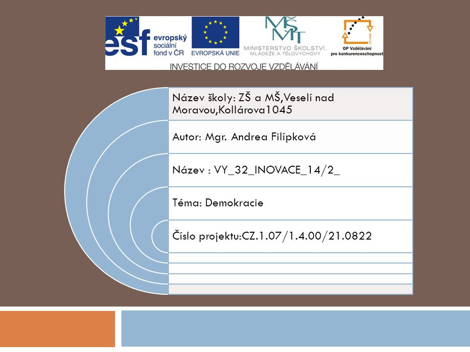 Anotace  Materiál je určen pro výuku předmětu občanská výchova pro základní školu praktickou.
