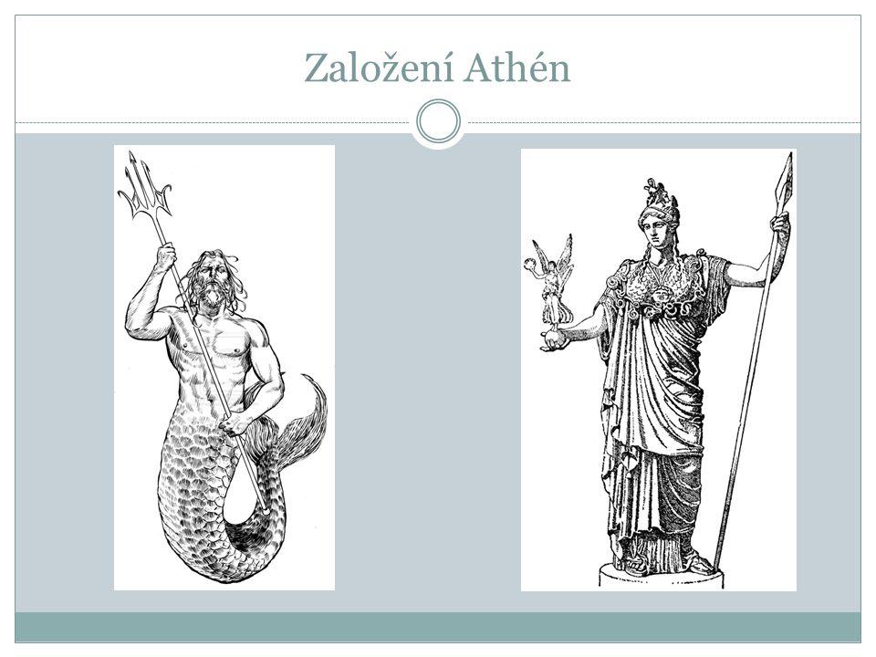 Založení Athén