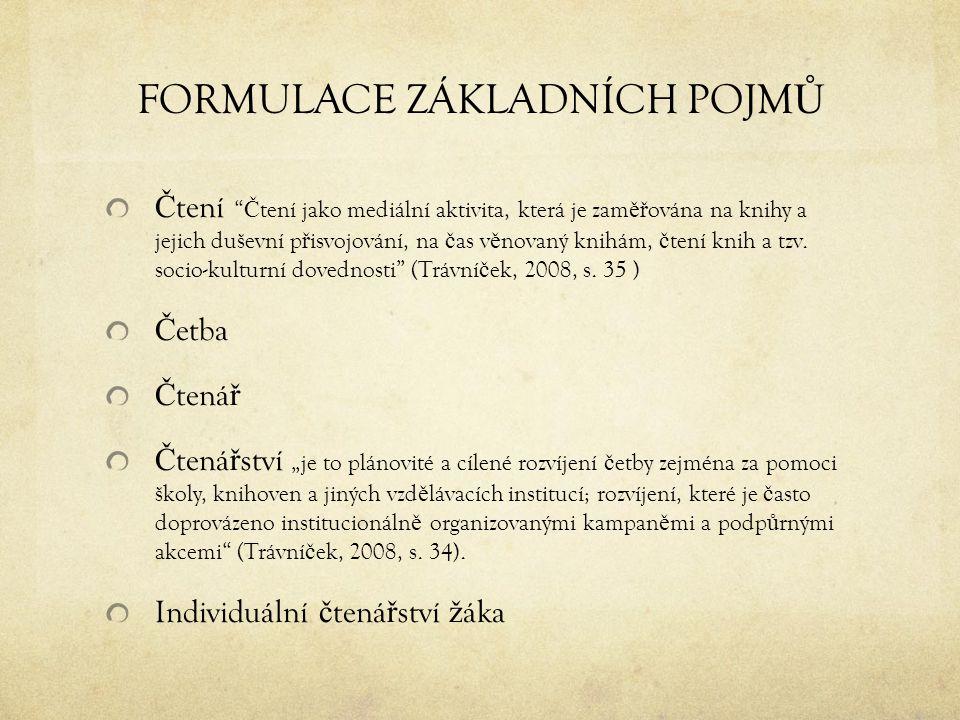 POU Ž ITÁ LITERATURA Najvarová, V.(2007). Model funk č ní gramotnosti a RVP ZV.