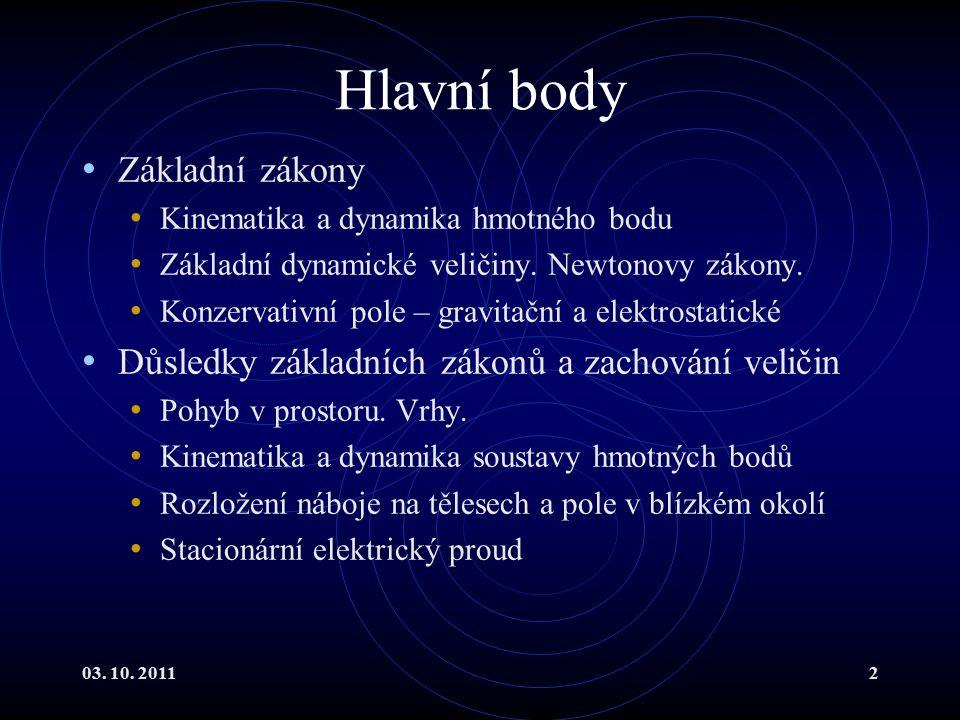 03.10. 201183 Vrh šikmý I Souřadnou soustavu zachováme.