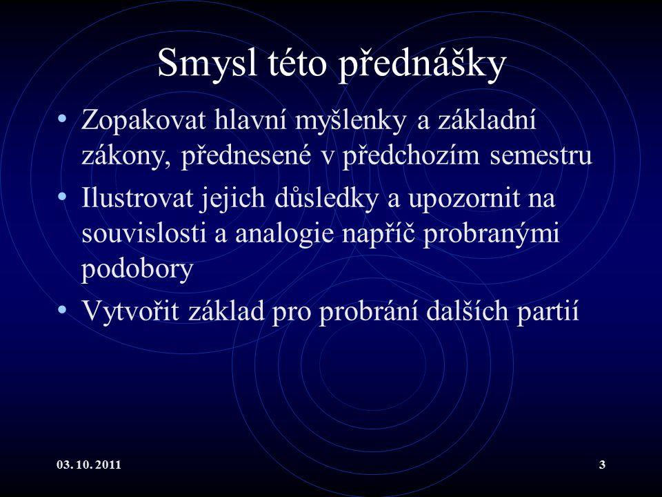03.10. 201164 *Gaussova věta II V nekonečnu mohou siločáry začínat i končit.