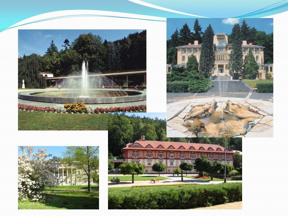 Karlovy Vary Největší české lázeňské město s více než 600 lety lázeňské tradice Založil Karel IV.