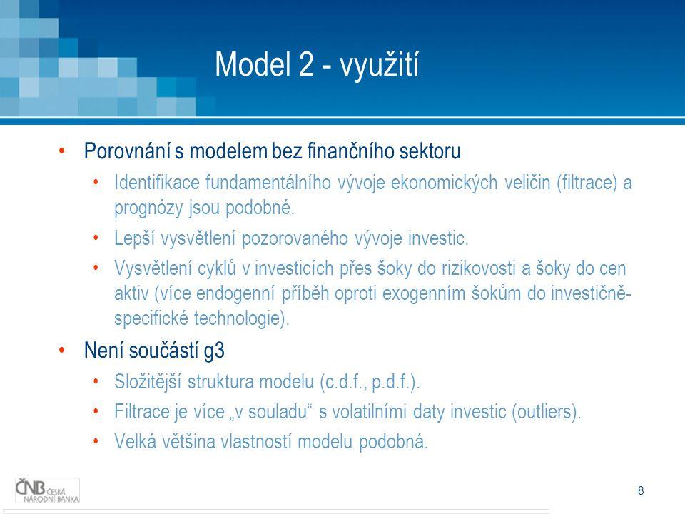 9 Model 2 – vyšší rizikovost