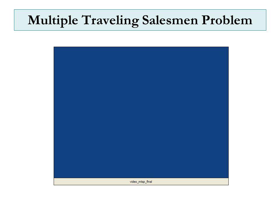 Multiple Traveling Salesmen Problem