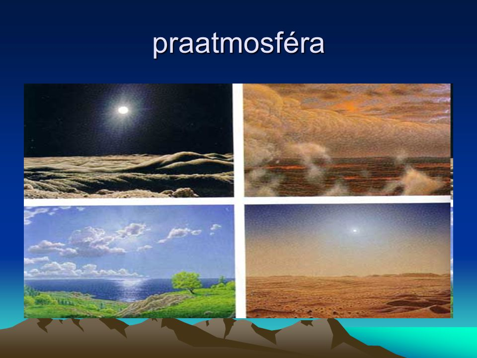 starohory(= proterozoikum) 2,5-0,6 miliard let Období trvalo miliardu let Tvorba velkého množství sedimentů Pevninské bloky se zvětšovaly ústupem moří z jejich okrajů- vyvrásňování pásemných pohoří na jejich okrajích Vzniká PANGEA- prakontinent( zformované bloky)