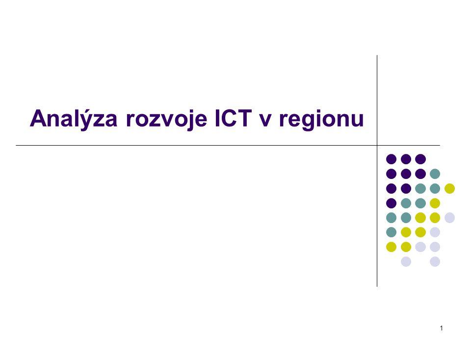 1 Analýza rozvoje ICT v regionu