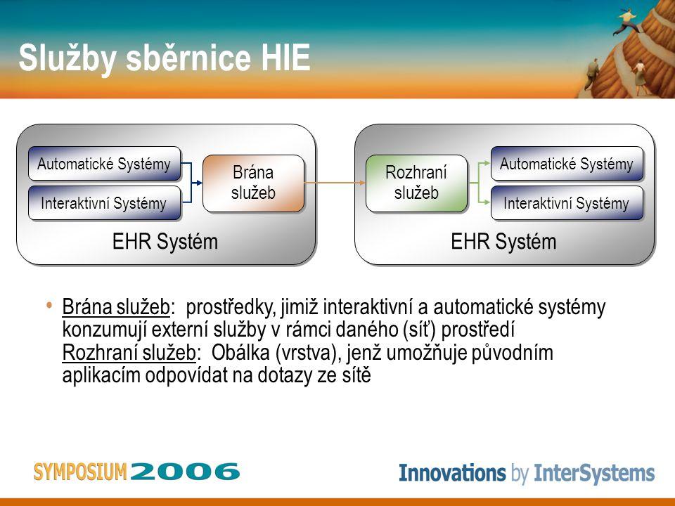EHR Systém EHR Systém Automatické Systémy Automatické Systémy Interaktivní Systémy Interaktivní Systémy EHR Systém EHR Systém Automatické Systémy Auto