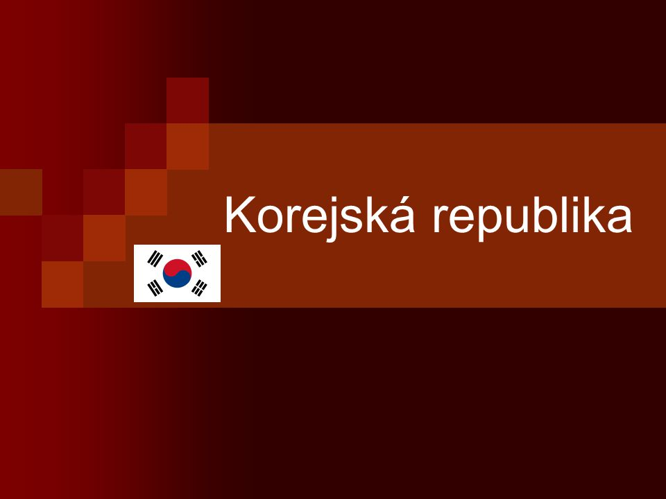Korejská republika
