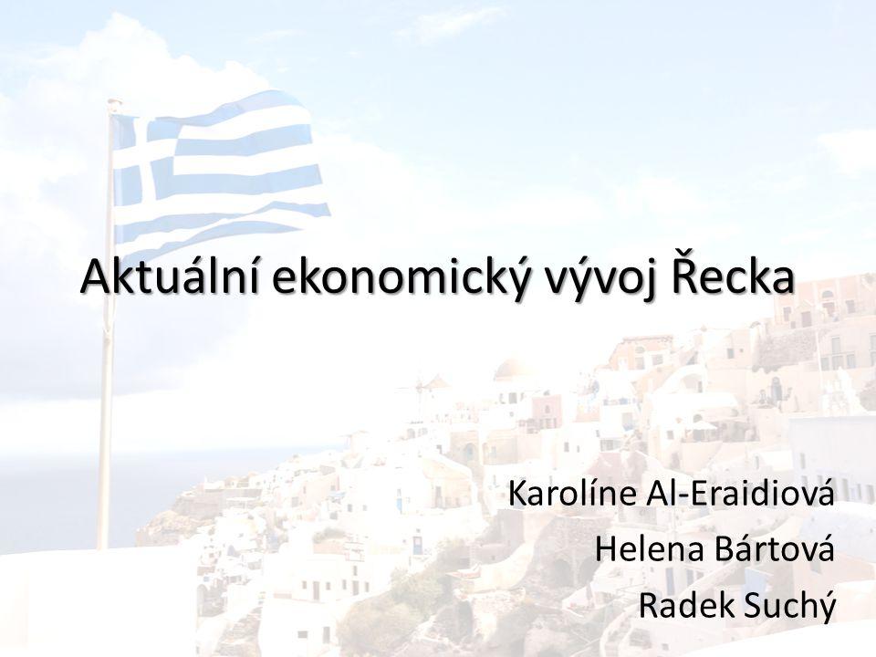 Obsah prezentace Základní informace Ekonomické ukazatele Historický vývoj krize Současná situace Budoucí vývoj Zdroje
