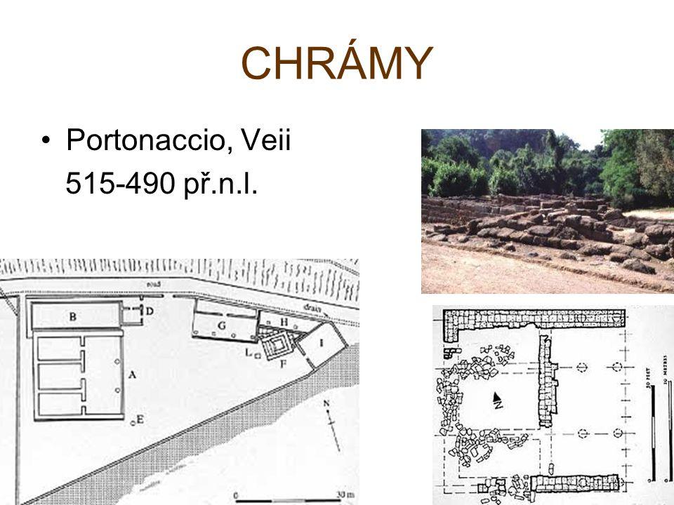 Portonaccio, Veii 515-490 př.n.l.