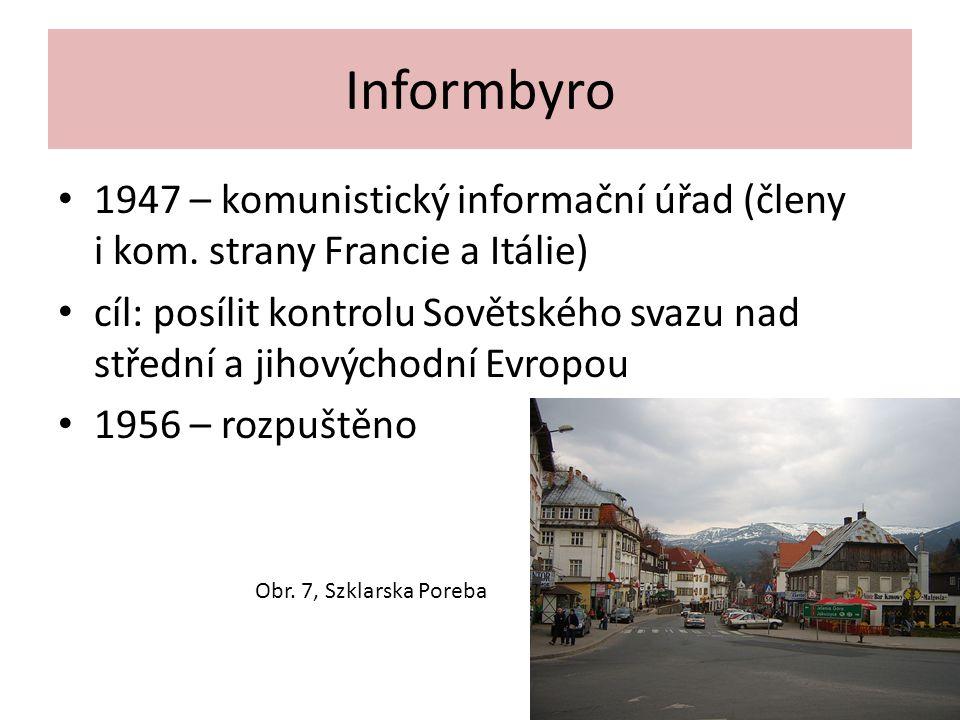 Informbyro 1947 – komunistický informační úřad (členy i kom.