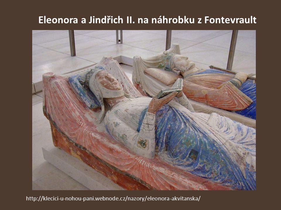 Eleonora a Jindřich II. na náhrobku z Fontevrault http://klecici-u-nohou-pani.webnode.cz/nazory/eleonora-akvitanska/