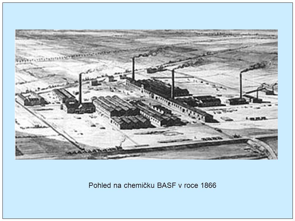 Pohled na chemičku BASF v roce 1866