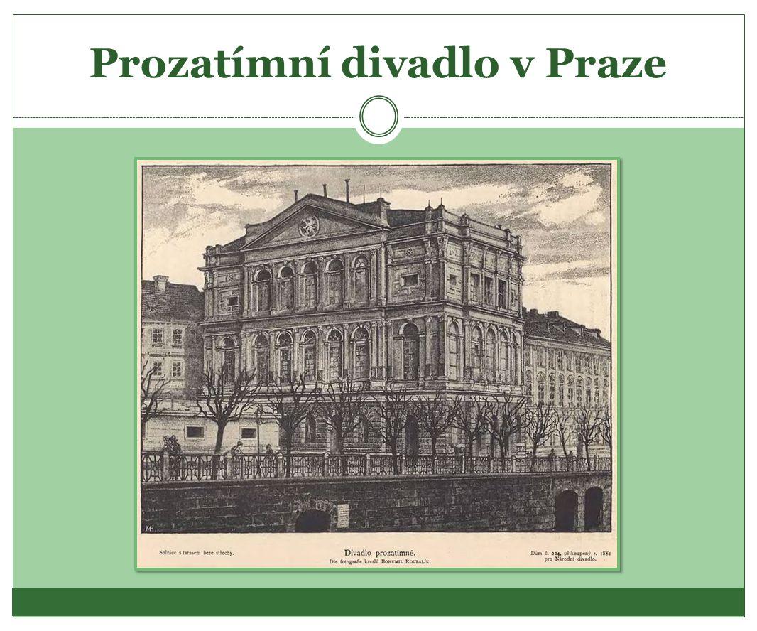 Prozatímní divadlo v Praze