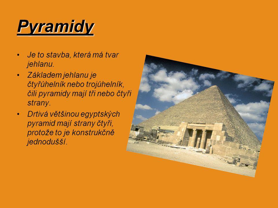 Původ pyramid Král Džoser vládl starobylému Egyptu v letech 2650-2575 př.n.l. Byl to muž osvícený, a tak se za jeho panování v zemi uskutečnila řada t