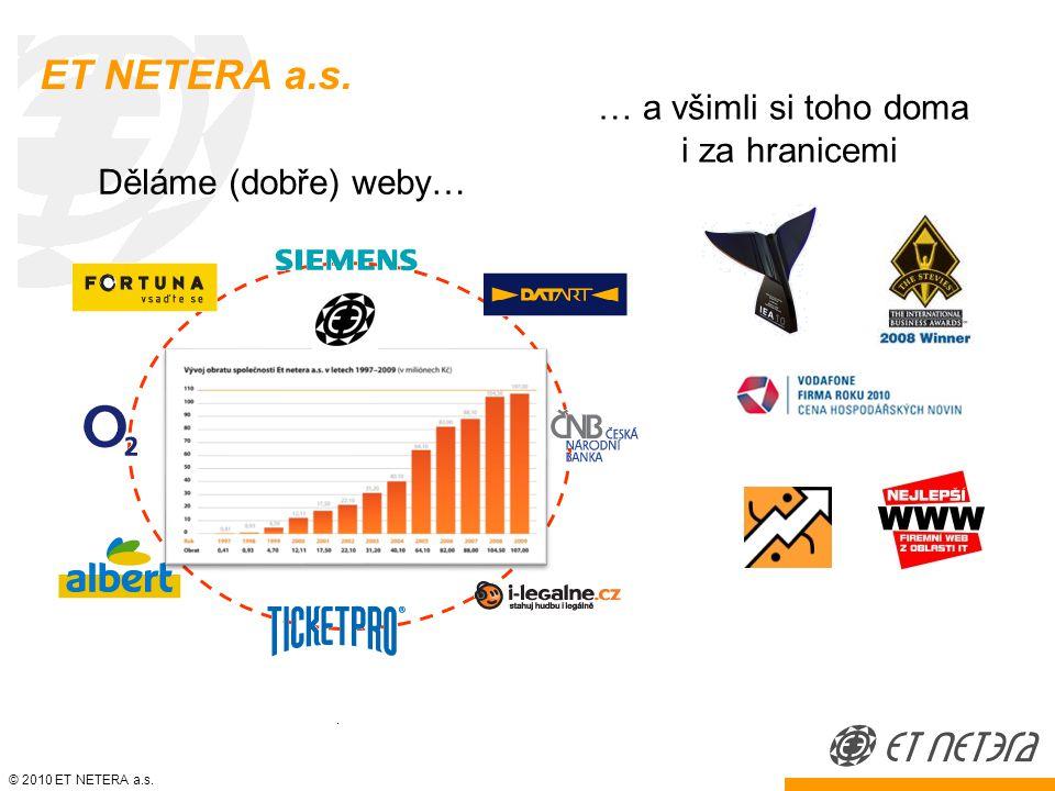 © 2010 ET NETERA a.s. Filosofie podnikatele
