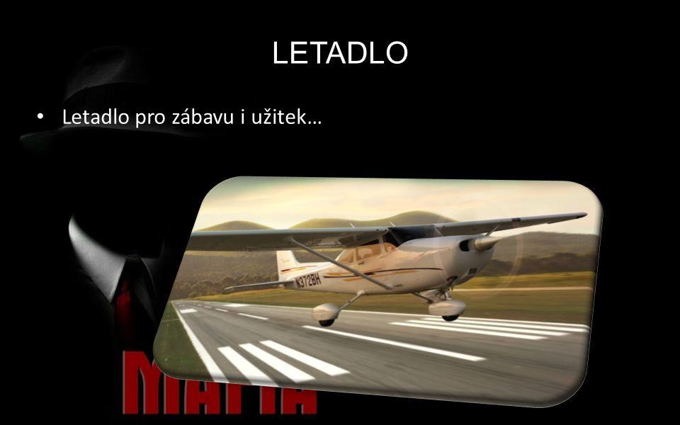 LETADLO Letadlo pro zábavu i užitek…