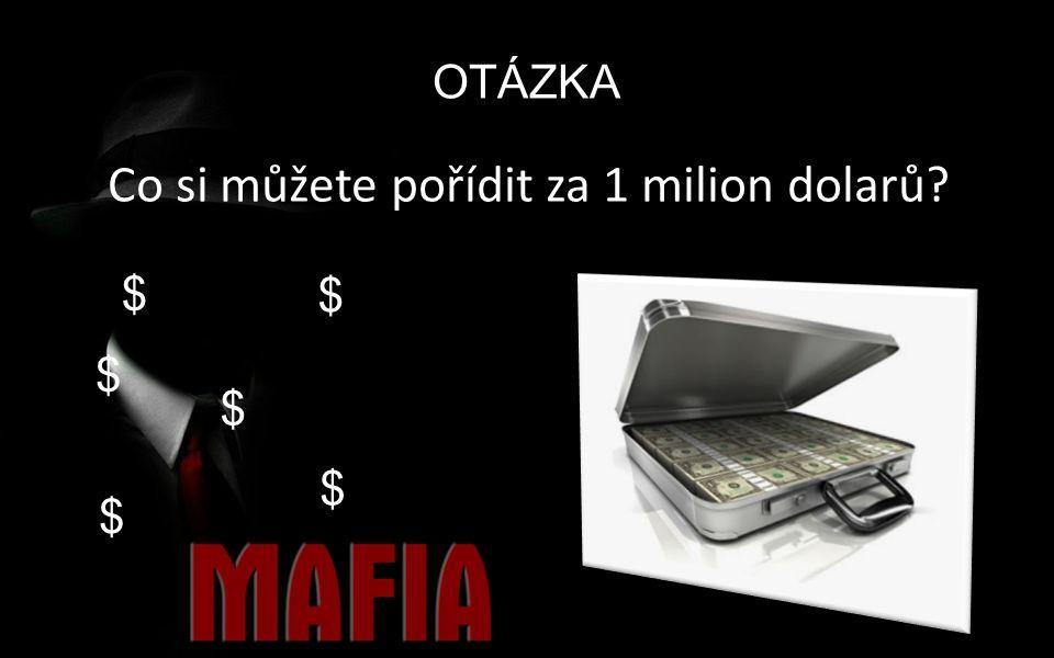 OTÁZKA Co si můžete pořídit za 1 milion dolarů? $ $ $ $ $ $