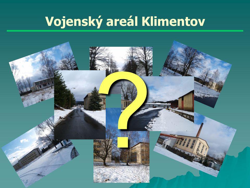 Vojenský areál Klimentov ?
