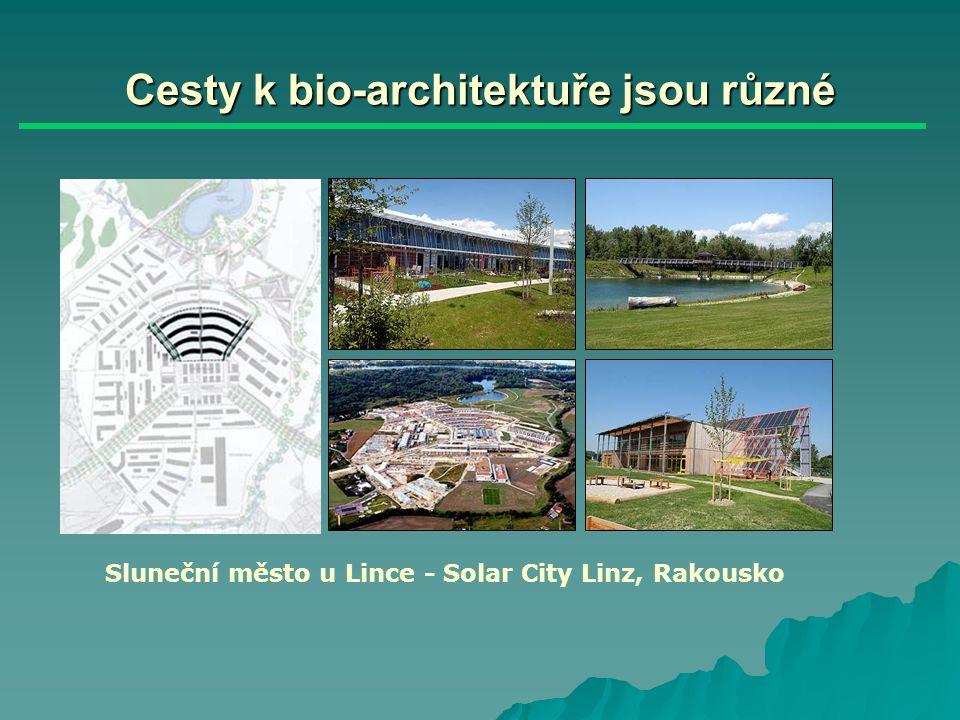 Cesty k bio-architektuře jsou různé Rekultivace letiště Maurice Rose, Frankfurt nad Mohanem, Německo