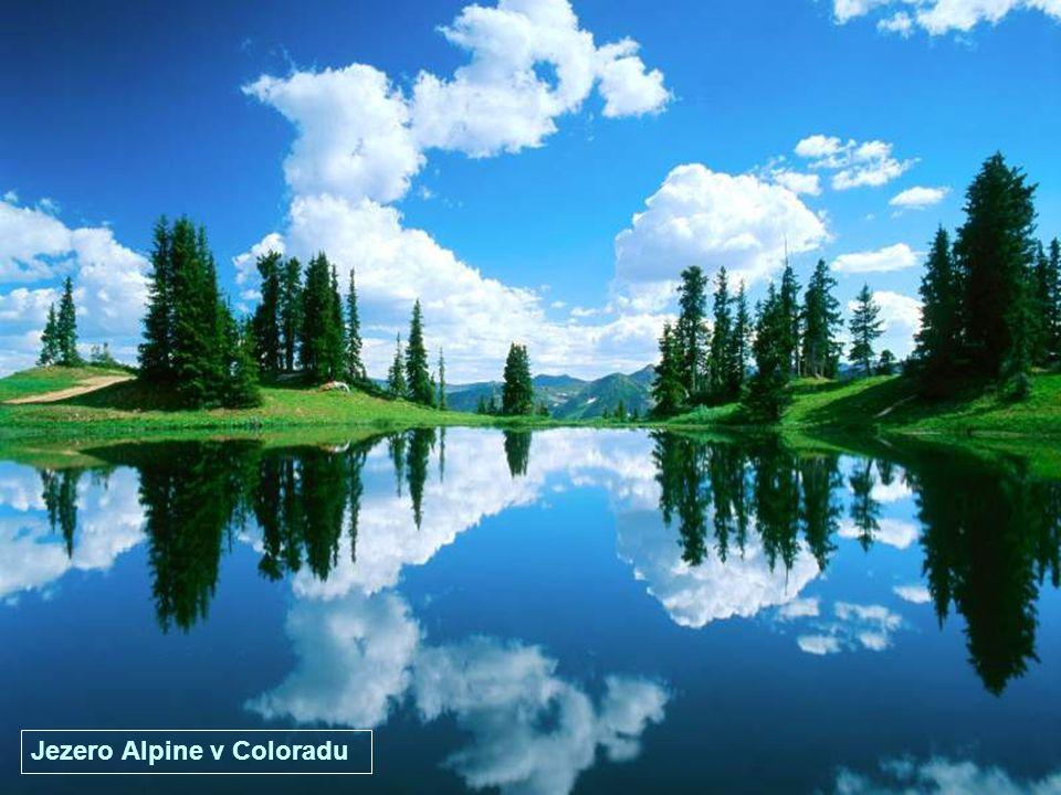 Jezero Jackson ve Wyomingu