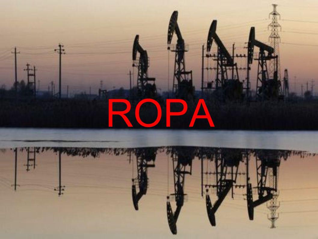 Ropa Ropa je světle žlutá až téměř černá kapalina, jejíž převážnou část tvoří kapalné uhlovodíky, ale i tuhé a plynné uhlovodíky i jiné látky.