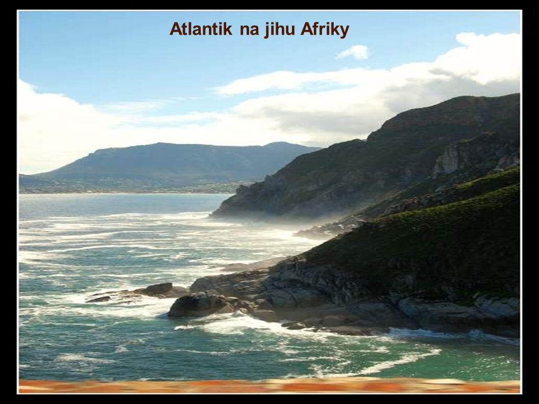 Atlantik na jihu Afriky