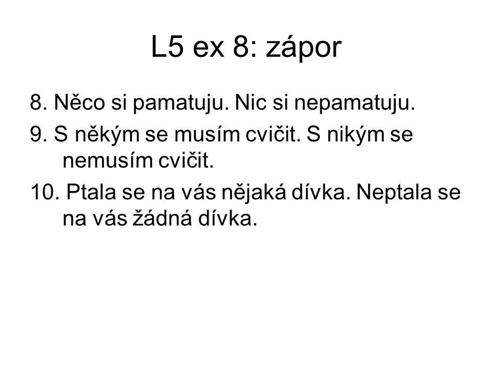L5 exx. Stránky 11, 12