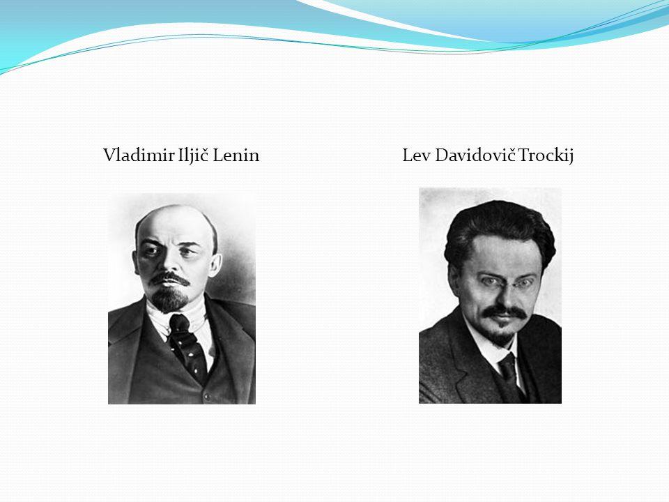 Vladimir Iljič LeninLev Davidovič Trockij