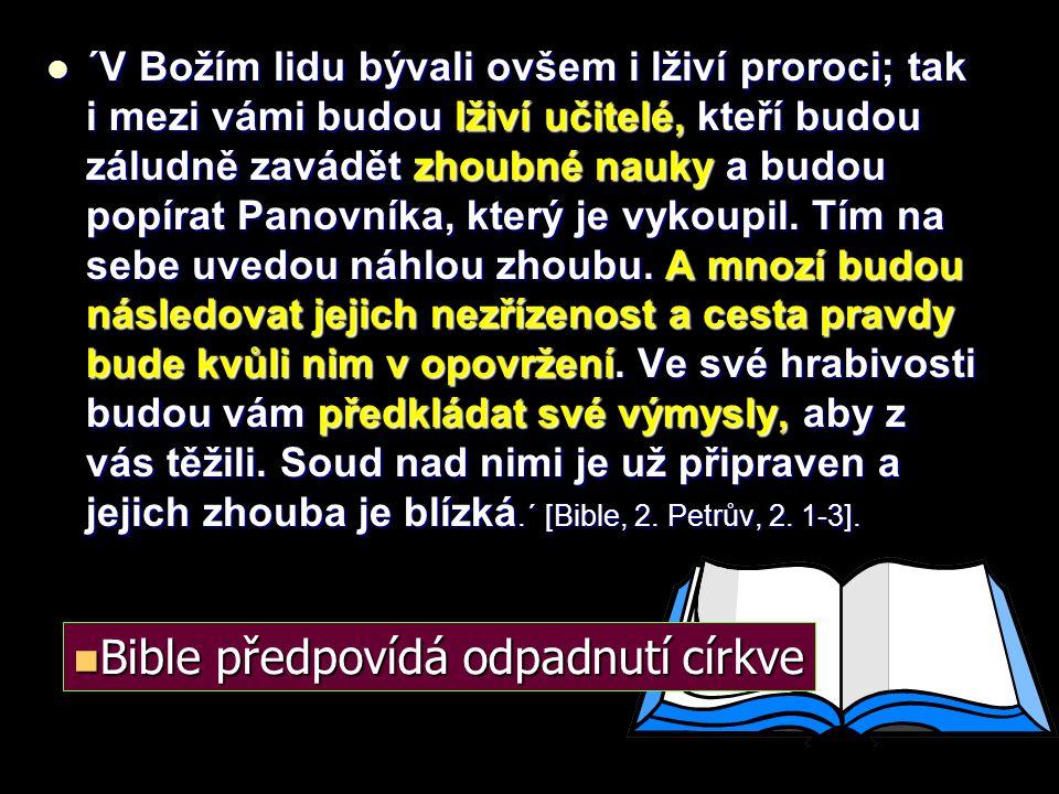 """Panna Marie - orodovnice Panna Marie - orodovnice """"Nikdo nevejde k Otci, než skrze mne """"Nikdo nevejde k Otci, než skrze mne """"Jeden je prostředník mezi Bohem a lidmi… """"Jeden je prostředník mezi Bohem a lidmi… Očistec od hříchů Očistec od hříchů je naprostý nesmysl a lidský výmysl je naprostý nesmysl a lidský výmysl Odpustky Odpustky je hanebné pošlapání Ježíšovi oběti."""