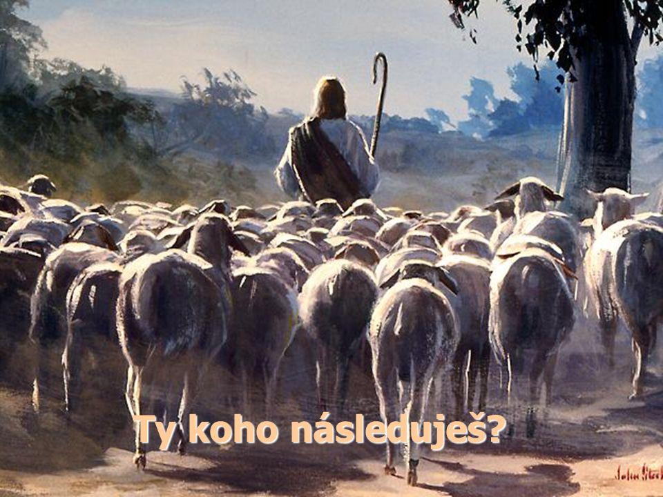 """""""Ježíš k nim opět promluvil a řekl: 'Já jsem světlo světa."""